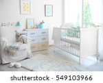 interior of modern baby room | Shutterstock . vector #549103966