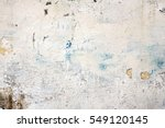 Small photo of Decrepit White Dirty Plaster Wall With Cracked Structure Horizontal Empty Grunge Background. Old Gray Grey Mortar Wall With Rough Shabby Stucco Layer Isolated Texture. Blank Peeled Messy Surface