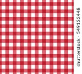 Red Plaid Checkered Gingham...