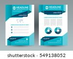 business brochure layout... | Shutterstock .eps vector #549138052
