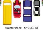 cars | Shutterstock .eps vector #54916843