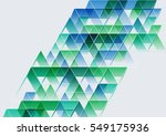 abstract background with... | Shutterstock . vector #549175936