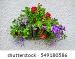 Basket Of Flowers Decorated Th...