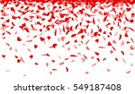 falling hearts background | Shutterstock .eps vector #549187408