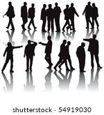 office men vector illustration...   Shutterstock .eps vector #54919030