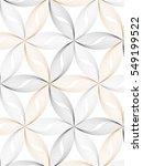 flower pattern vector ... | Shutterstock .eps vector #549199522