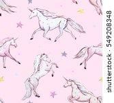 watercolor pattern. white... | Shutterstock . vector #549208348