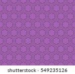 seamless floral geometric... | Shutterstock .eps vector #549235126