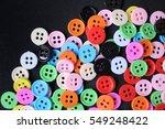 sewing buttons | Shutterstock . vector #549248422