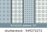 seamless geometric line... | Shutterstock .eps vector #549272272