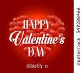 valentine's day | Shutterstock . vector #549288466