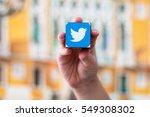 minsk  belarus   january 5 ... | Shutterstock . vector #549308302