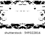 grunge black and white urban... | Shutterstock .eps vector #549322816
