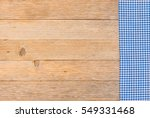 Blue Table Cloth  Rustic...