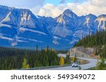 view from the road on the... | Shutterstock . vector #549349072