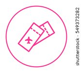 ticket isolated minimal single... | Shutterstock .eps vector #549373282