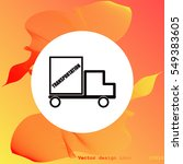 delivery icon   Shutterstock .eps vector #549383605