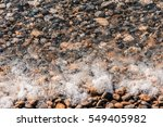 crystal clear water in the sea. | Shutterstock . vector #549405982