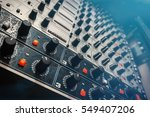 audio effects processors in a... | Shutterstock . vector #549407206