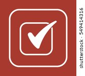 checklist  icon vector. flat...