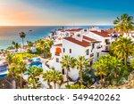 puerto de santiago city  ... | Shutterstock . vector #549420262