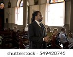 church people believe faith... | Shutterstock . vector #549420745