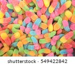 Colorful Jelly Candy Bonbon...