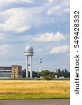 Small photo of Berlin Tempelhof, former airport in Berlin city, Germany. Ceased operations in 2008 and now used as a recreational space known as Tempelhofer Feld