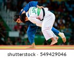 Small photo of Rio de Janeiro, Brazil. August 8, 2016. JUDO - MEN -73 KG FINAL - GOLD MEDAL CONTEST, ONO Shohei (JPN) vs ORUJOV Rustam (AZE) at the 2016 Summer Olympic Games in Rio De Janeiro.