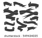 set of vintage hand drawn... | Shutterstock .eps vector #549434035
