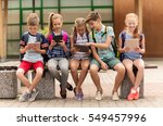 primary education  friendship ...   Shutterstock . vector #549457996