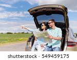 leisure  road trip  travel and... | Shutterstock . vector #549459175