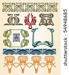 art nouveau symbols