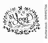 vector illustration inscription ... | Shutterstock .eps vector #549492766