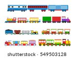 toy train vector illustration. | Shutterstock .eps vector #549503128