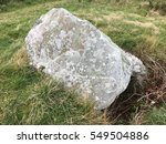 Small photo of Cist, megalithic tomb on the Island of Alderney, Channel Islands