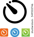 camera timer icon | Shutterstock .eps vector #549533746