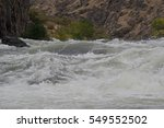 Close Up View Of Rapids On The...
