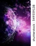 global network internet concept.... | Shutterstock . vector #549559138