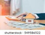 property management concept ...   Shutterstock . vector #549586522