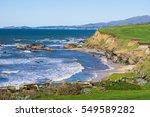 Pacific Ocean Coastline  Half...