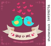 bird couple for valentines day...