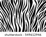 Zebra Print  Animal Skin  Tige...