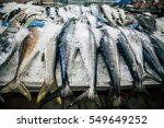 fish market abu dhabi   | Shutterstock . vector #549649252