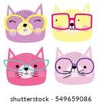 cute cats | Shutterstock .eps vector #549659086