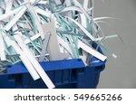 shredded documents | Shutterstock . vector #549665266