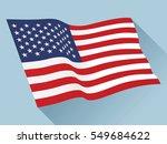 usa flag vector | Shutterstock .eps vector #549684622