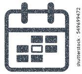 calendar date grainy textured... | Shutterstock . vector #549699472