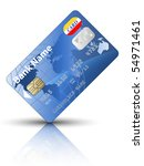 Icon Of A Credit Card  Vector