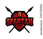 spartan team logo | Shutterstock .eps vector #549730402